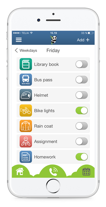 A To Do List for children and teenagers. It is easy to create reminders - set alarms with ringtone