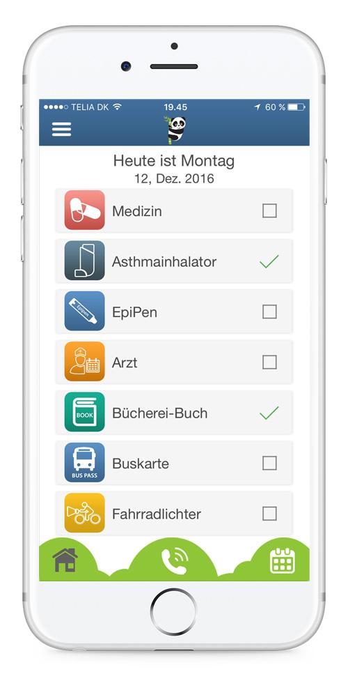 Diabetes, Medizin und Allergie iErinnerung - Bear In Mind App